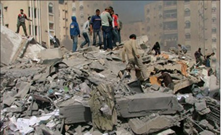 Israeli bombing of Palestine