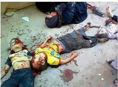 Women & Chidren murdered in Gaza 2012