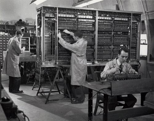 BINAC 'computer' 1950s
